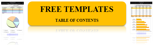 electrical contractor templates table of contents